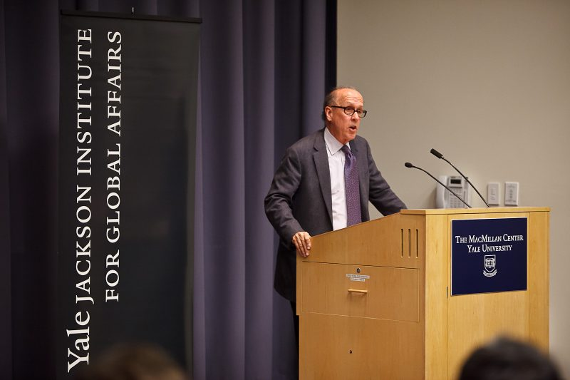 Wall Street Economist Stephen Roach Named Fellow Of Jackson Institute Thumbnail