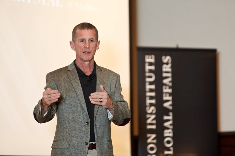 General Stanley McChrystal Joins Yale Faculty as Senior Fellow at the Jackson Institute Thumbnail