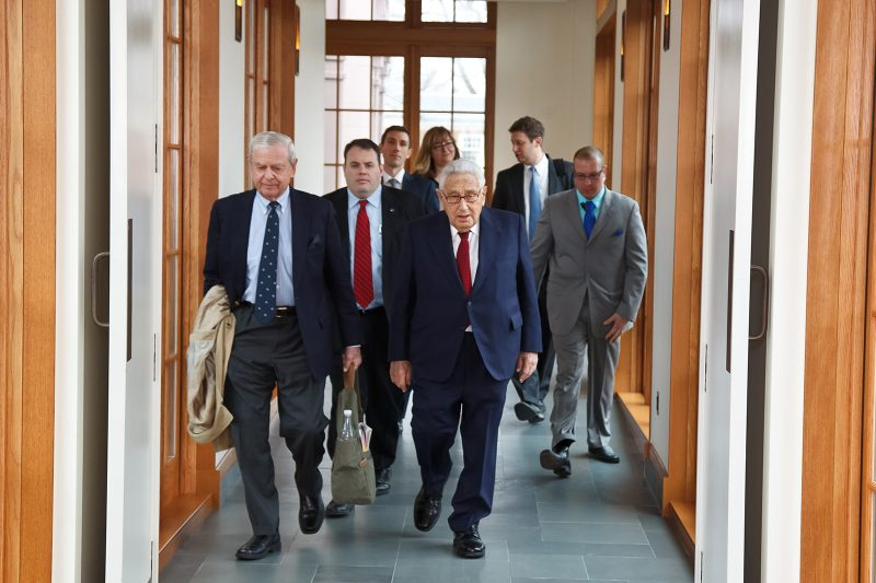 Kissinger Visits To Donate Papers Thumbnail