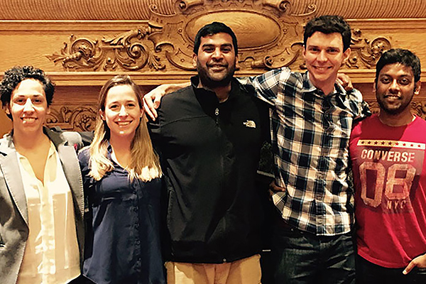 Graduate Students Awarded $20K Prize for Health Care Technology Project Thumbnail