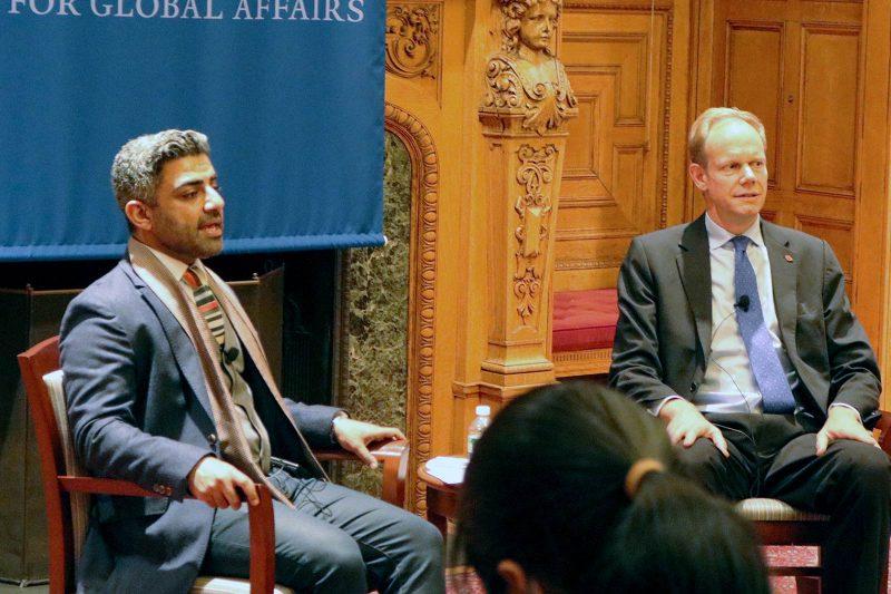 "Talk on ""Challenges Facing The UN Security Council"" Nov. 10 Thumbnail"