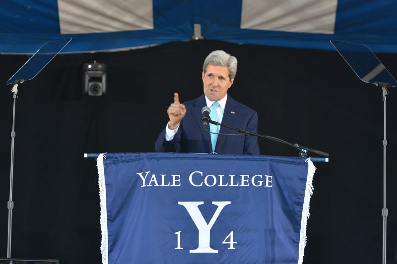 Secretary Kerry Joins Yale as Distinguished Fellow for Global Affairs Thumbnail