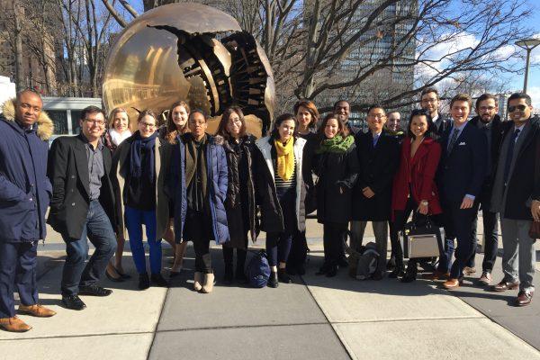 Grad admissions coffee chat — New York City