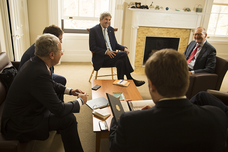 Yale Alumni Magazine features story on Sec. John Kerry '66 Thumbnail