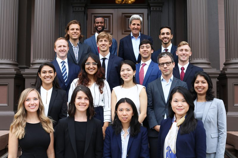 Sec. John Kerry   Working with Kerry Fellows