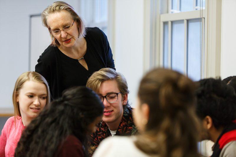 Catherine Panter-Brick classroom shot
