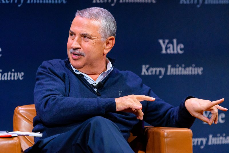 Kerry Conversation with Thomas Friedman Image