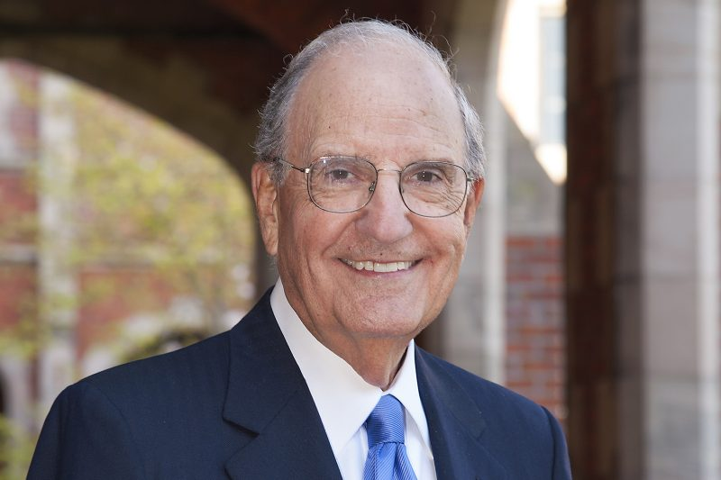 Sen. George Mitchell to visit Yale for Kerry Conversation Dec. 1 Thumbnail