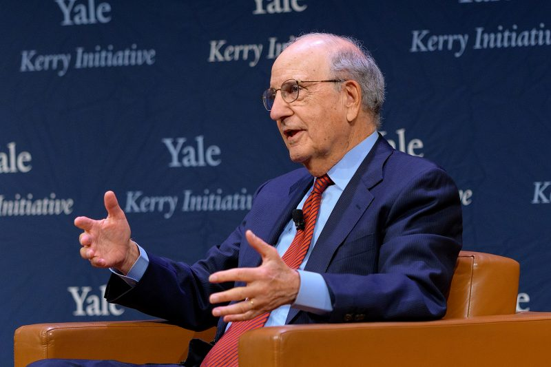 Kerry Conversation with George Mitchell Image