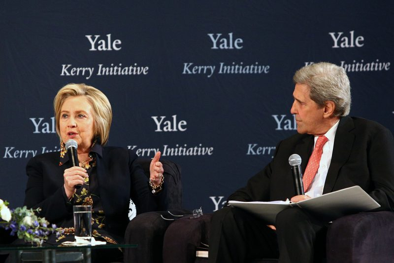 Albright, Rice, Clinton, and Kerry discuss U.S. role on world stage