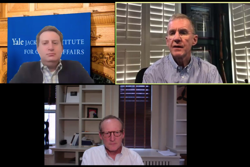 Senior Fellow Stan McChrystal addresses leadership in times of crisis Thumbnail