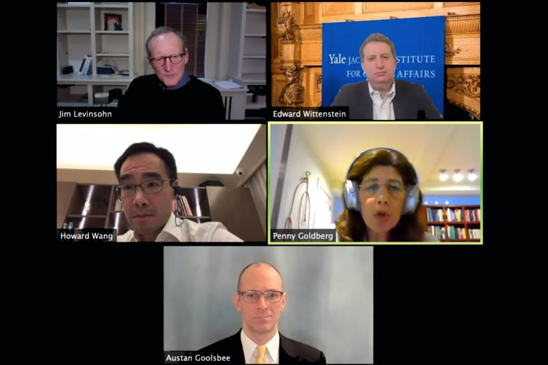 Economists discuss COVID-related economic turmoil and the way forward Thumbnail