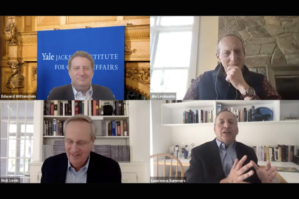 Event recording | COVID-19 and Global Affairs: Prospects for Recovery in the World Economy Thumbnail