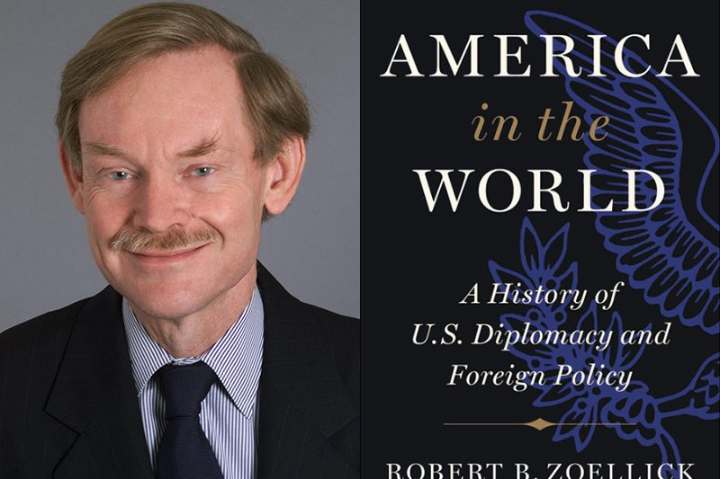 Robert Zoellick and book cover