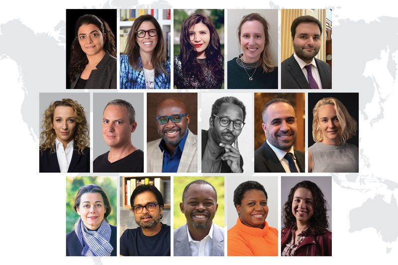 Sixteen global leaders named 2021 World Fellows Thumbnail